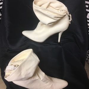 Off white Nine West heel boots